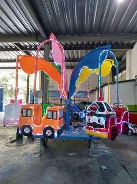 odong komedi putar safari DCN wahana pasar malam kereta mini