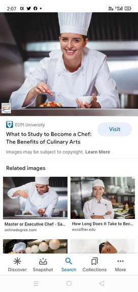 I am chef I want to job I am making all