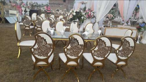 Brand New S,s chair Victorian sofa and all event accessories available