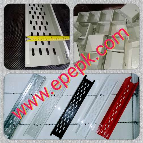 Cable tray, Perforated cable tray, GI cable tray, Threaded Rod...