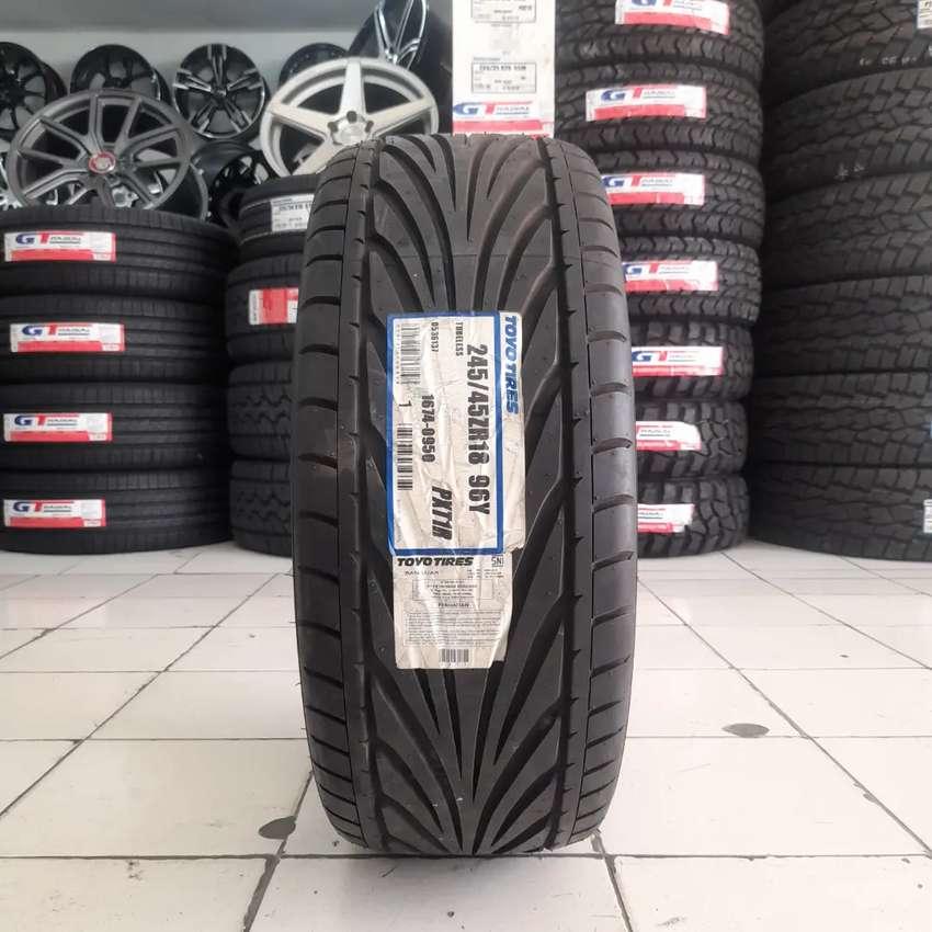 Toyo tires 245/45 R18 PXR1R. B/u mobil mercy BMW 0
