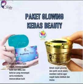 Paket glowing kedas beauty original BPOM