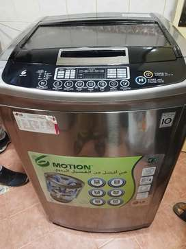 LG 10.5 KG atuomatic inverter washing machine