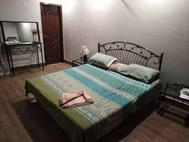 Double bed set with matters.