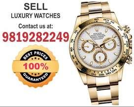 Selling Rolex Submariner Patek, Audemars,Vacheron, Omega Watch buyers