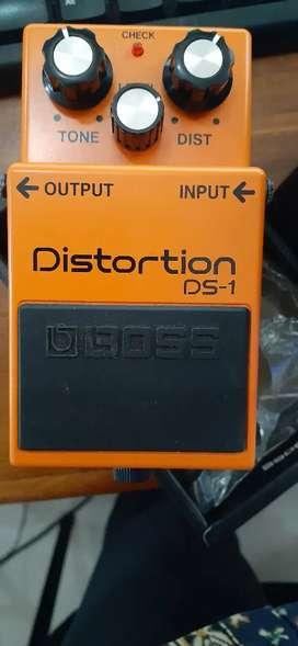 Efek gitar BOSS DS1 jarang di pake fungsi all normal