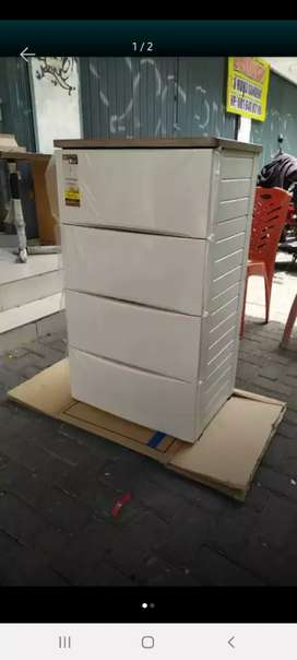 lemari plastik olymplast ODC - 04 modern awet murah area jogja (est)