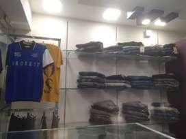 Menswear shop