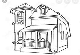 Spacious Semi furnished 2 bhk for rent