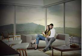Godrej Exquisite Thane West at Kavesar me 2 BHK Flat available for Sal