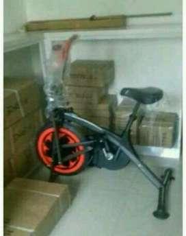 Plat bike statis hitam 2pungsi baru