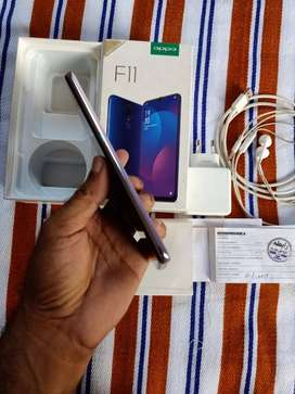 Oppo f 11 mobile phone 6/128 g/b for sale