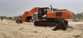 Tata hitachi 370 excavator