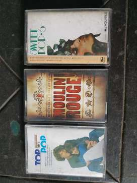 3 cassette Moulin Rouge, Top pop, Sweet pop 6.