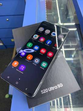 BUY S20 ULTRA WITH BOX AND ALL ACCESSORIES