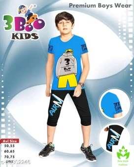 Kids wear clothes