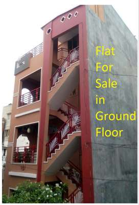 Flat for sale near by happy homes