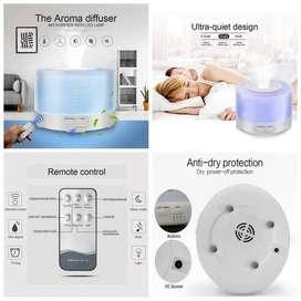 Humidifier Diffuser Aromatherapy 7 Color 500ml + Remote Control 910