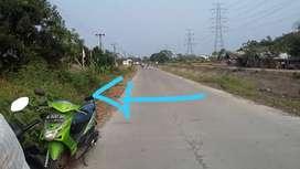Tanah 1 Ha Pinggir Jalan Raya Margaluyu Kasemen