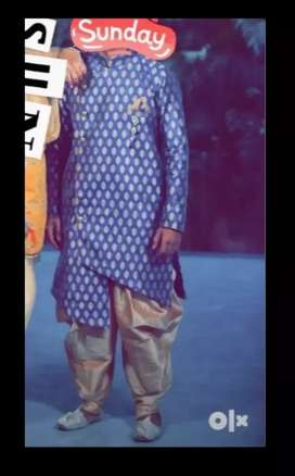 Sherwani totally new for sell urgent