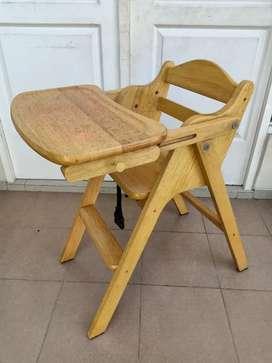 Kursi kayu lipat anak