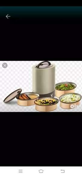 Tiffin service saaf fresh khana