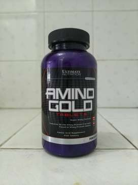 Ultimate Amino Gold 250 Tablets / protein suplemen tab tabs tablet un