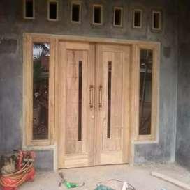 Kusen pintu dan jendela daun pintu dan jendela