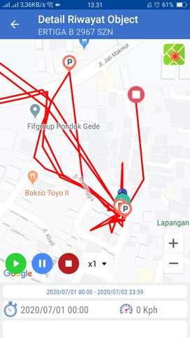 GPS TRACKER gt06n terbaik di sukawangi bekasi+server