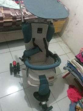 Stroller babyelle 3 roda
