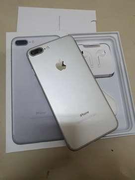 Iphone 7 plus 128gb silver mulus terawat