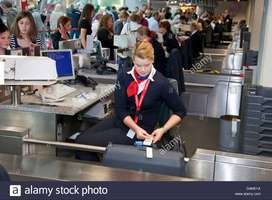 Airport Ground Staff job for fresher candidates in Guwahati Airport