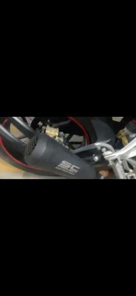 Sc project exhaust rs200 ktm r15