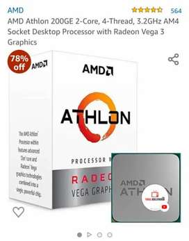 Amd althlon processor with vega 3 graphic