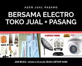 Kantor Instalasi Pasang Sinyal Antena TV