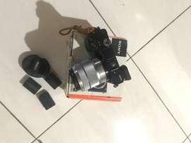 Sony a6000 + lensa 18-55mm