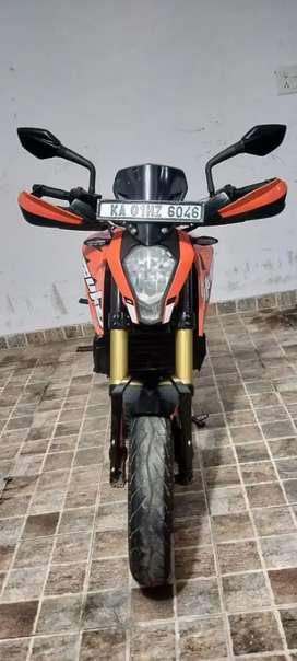 KTM Duke 200cc BS4, orange and black,2018, single owner self start all