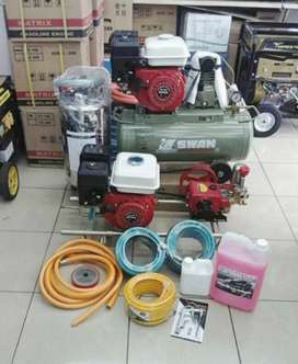 jual murah 1 set perlengkapan usaha dan cuci motor full set
