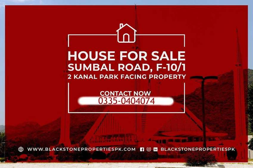F 10/1 Islamabad House for sale 0