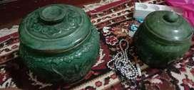 Brg antik guci hijau siam