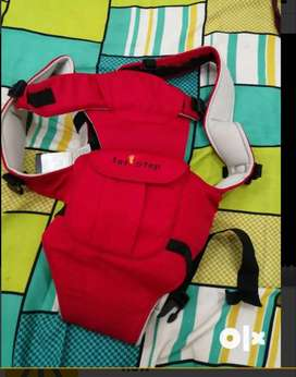 Baby carrier red in good condition