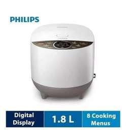 Rice Cooker Philips Magic Com Philips HD 4515 Kapasitas 1,8 Liter