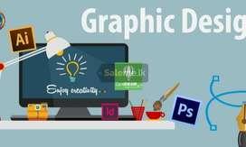 Graphic designer cum video editor