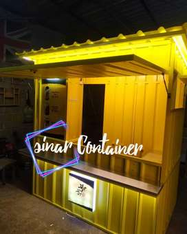 Booth container booth jualan booth bazar booth dagang container coffee