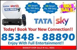 Holyday Offer! Winter Season! Tata sky DishTV Airteltv Tatasky HD!!  S