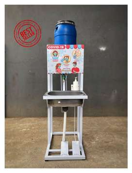Wastafel Portable dengan Toren