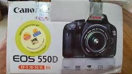 CANON eos 550D digital camera