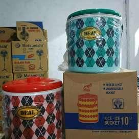 Rice Bucket / thermos Es 10ltr Merk Deal