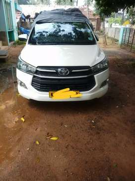 Toyota Innova Crysta 2018 Diesel Well Maintained.taxi permit