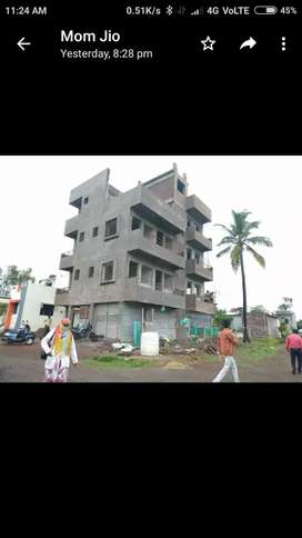 Bamnoli road ment fata flat available 1 bhk n 2 bhk type